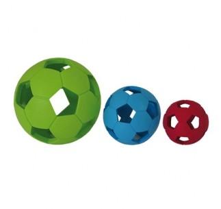 Pelota fútbol de goma
