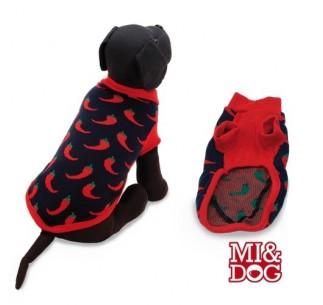 MI&DOG Jersey Estampado Guindilla