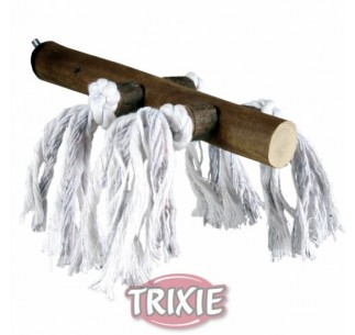 Percha con blco con cuerda ,20cm