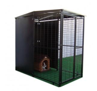 Perrera para perros Modular 2 X 1 mts