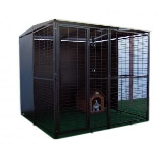 Perrera para perros Modulares 2 x 2 metros