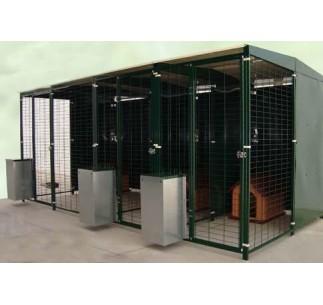 Perrera Para Perros Bateria 4 x 2metros