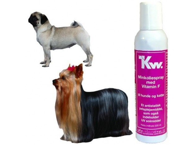 Spray Abrillantador Aceite de Visón con Lanolina Kw.
