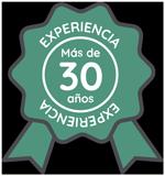 30 años experiencia